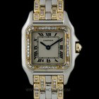 Cartier 18k White & Yellow Gold Diamond Set Panthere...