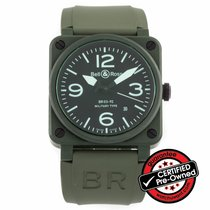 Bell & Ross Green Ceramic Military Type