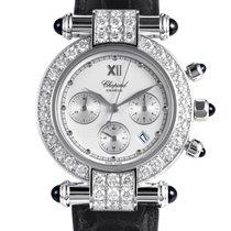 Chopard Imperiale Women's 18K White Gold Quartz Watch...