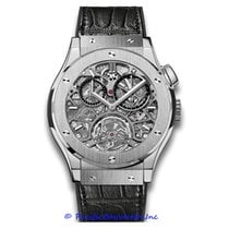 Hublot Classic Fusion Tourbillon Skeleton King Titanium...