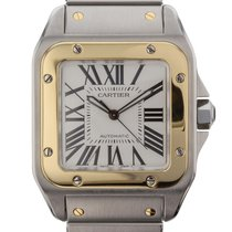 Cartier Santos 100 Automatic No Date Mens watch W200728G