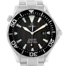 Omega Seamaster Professional 300m Black Dial Quartz Watch...