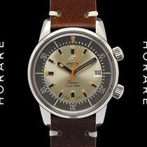 Enicar Sherpa Super-Dive Very Rare Silver Dial - 1967