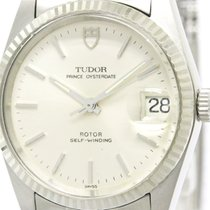 Tudor Polished  Prince Oyster Date Steel Automatic Mens Watch...