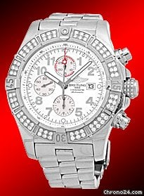 Breitling Diamond Super Avenger Chronograph