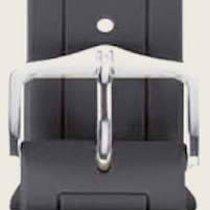 Hirsch Uhrenarmband Hevea grau L 40458830-2-20 20mm