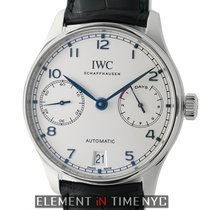 IWC Portuguese Collection Portuguese 7 Day Automatic Stainless...