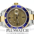Rolex Submariner 16613 ACCIAIO E ORO GOLD diamond  2003