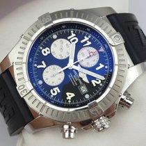 Breitling Super Avenger Chronograph - A13370 - Box &...