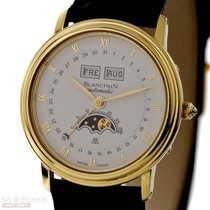 Blancpain Villeret Calender Moon-Phase Automatic 18k Yellow...