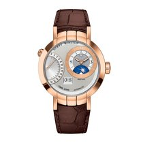 Harry Winston [NEW] Premier Excenter Time Zone automatic 18K...
