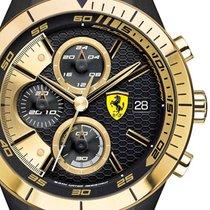 Scuderia Ferrari 0830303 Red Red Evo Chronograph Herren 46mm 5ATM