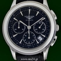 Longines Flagship 39mm Automatic Chronograph Box&Papers