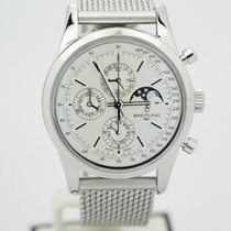 Breitling Transocean 1461 Stainless Steel Moonphase Chronograp...