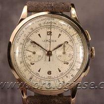 Lemania Vintage Pink Gold Medical Chronograph Cal. Lwo 1270 On...