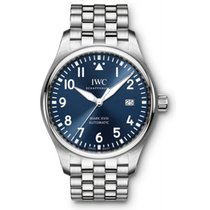 IWC Pilot's Watch Mark XVIII Blue Dial Stainless Steel ...