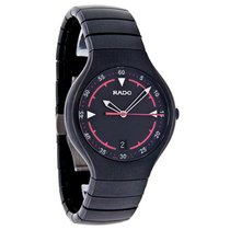 Rado True Active Mens Black Ceramic Watch R27677152