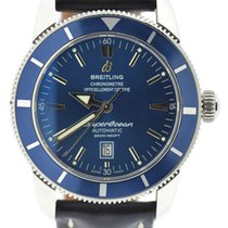Breitling Superocean Heritage 46 Blue Dial Stainless Steel