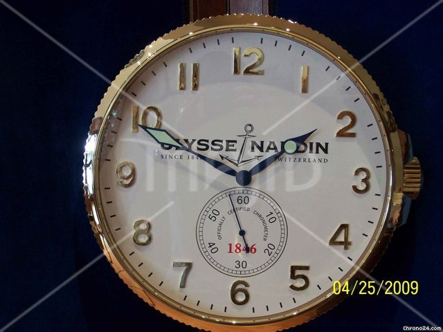 Ulysse Nardin Wall Clock Orologio Da Parete For 1 475