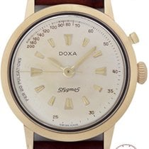 Doxa Mans Wristwatch Sfygmos Chronograph for Doctors