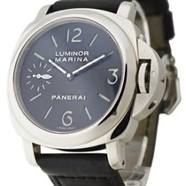 Panerai PAM 00111 PAM 111 - Luminor Marina in Steel - on Brown...
