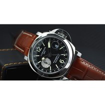 Panerai [NEW] Gent's Stainless Steel 44mm Luminor GMT PAM 88