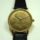 Corum U.S. $20 coin watch dates 2000's mechanical wind