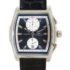 IWC Da Vinci Chronograph Iw376403 In Steel And Leather,...