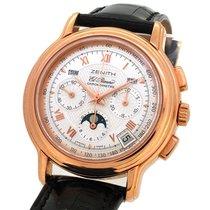 Zenith El Primero Chronometre Moon phase Rose Gold 17.0240.410...