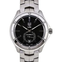 TAG Heuer Link Calibre 6 Small Second Black