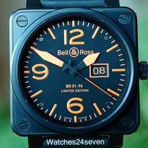 Bell & Ross BR01-96 Aviation Grand Date Black/Orange LTD 46mm