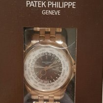 Patek Philippe World Time Pink gold 35% off