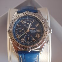 Breitling Windrider Crosswind Chronograph Blau/Edelstahl