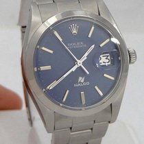 Rolex 1980 Rolex Oyster Date Blue Dial Nalco Stainless Steel...