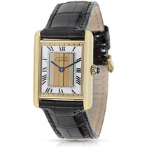 Cartier Tank 83204 Ladies Watch in 92k Vermeil