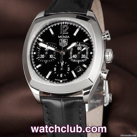 TAG Heuer Monza - Stainless Steel Re-Edition