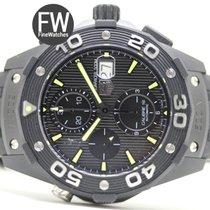 TAG Heuer Aquaracer Black Titanium Carbide Chrono 500m Calibre...