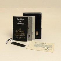 Corum Certificate Zertifikat Warranty