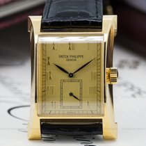 Patek Philippe 5500J Pagoda 18K Yellow Gold / Gold Dial (23491)