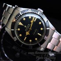 Rolex 6536-1 Submariner Gilt Dial 4 Lines w/ Bracelet