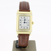 Jaeger-LeCoultre Reverso 18k Yellow Gold Florale