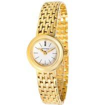 Tiffany Portfolio 18K Yellow Gold Quartz Dress Watch