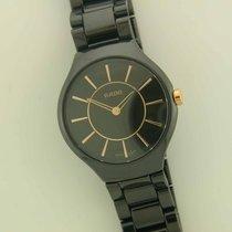 Rado Ladies True Thinline ceramic quartz watch