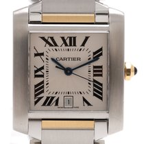 Cartier Tank Francaise Gold/Steel Large