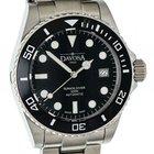 Davosa Ternos Diver Professional Date Stahl Automatik Armband...