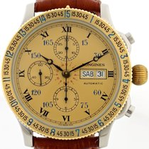 Longines Lindbergh Chronograph Hour Angle ref. L674.4