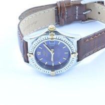 Breitling Sirius Perpetual Quartz Damen Uhr 32mm Rar Stahl/gol...