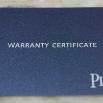 Piaget vintage warranty card blu newoldstock