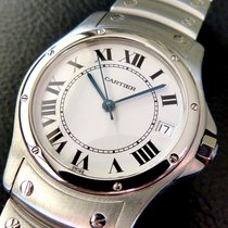 Cartier Like New Men´s Santos Ronde Automatic Watch