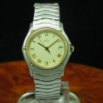 Ebel Sport Classique 18kt 750 Gold / Edelstahl Damenuhr Inkl...